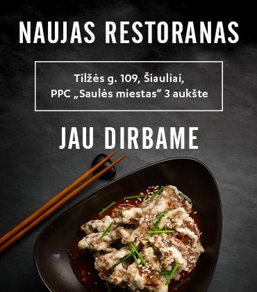 Naujas restoranas